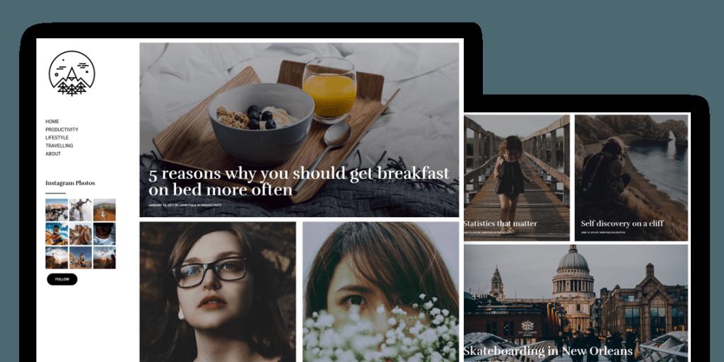 Raiden - Stylish, Minimal & Gutenberg-Ready Free WordPress Theme